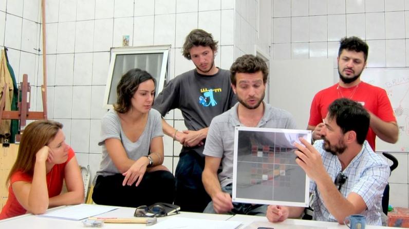 Ivan Padovani mostra seu trabalho   Hermes visita o atelier de Alexandra Ungern