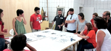 Camilo Meneghetti mostra seu trabalho | Hermes visita o atelier de Alexandra Ungern