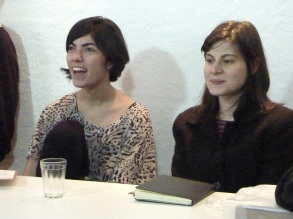 Ana Maria Maia e Luiza Proença