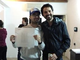 Nino Cais e Bruno Faria