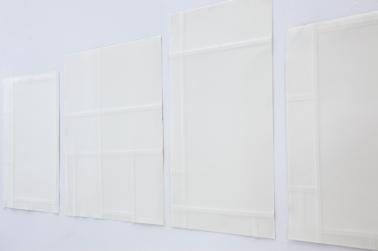 """Cecilia Walton, """"Composição com vermelho, amarelo e azul"""", 2013"""