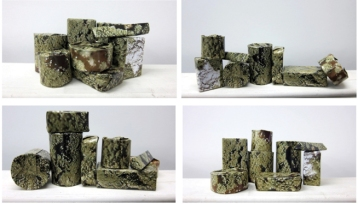 Alexandra Ungern-Sternberg, Paisagem, 2012. Fotografia C-Print adesivada em PS. 20 x 40 cm cada, edição de 5 + P.A.