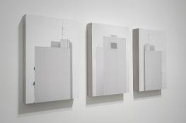 Ivan Padovani - Campo Cego #03, 2014. Fotografia digital, impressão em papel de algodão sobre composto de cimento e celulose, 100 x 58 cm