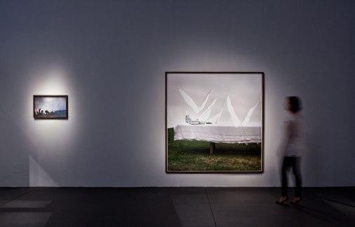 Julia Kater . vista da exposição Um de três, 2011 . Funarte São Paulo . Fotos: Ding Musa