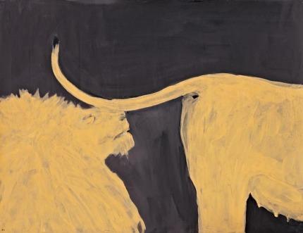 Rosa Barreiros . Preliminares 2, 2010 . acrílica sobre tela . 80 x 120 cm