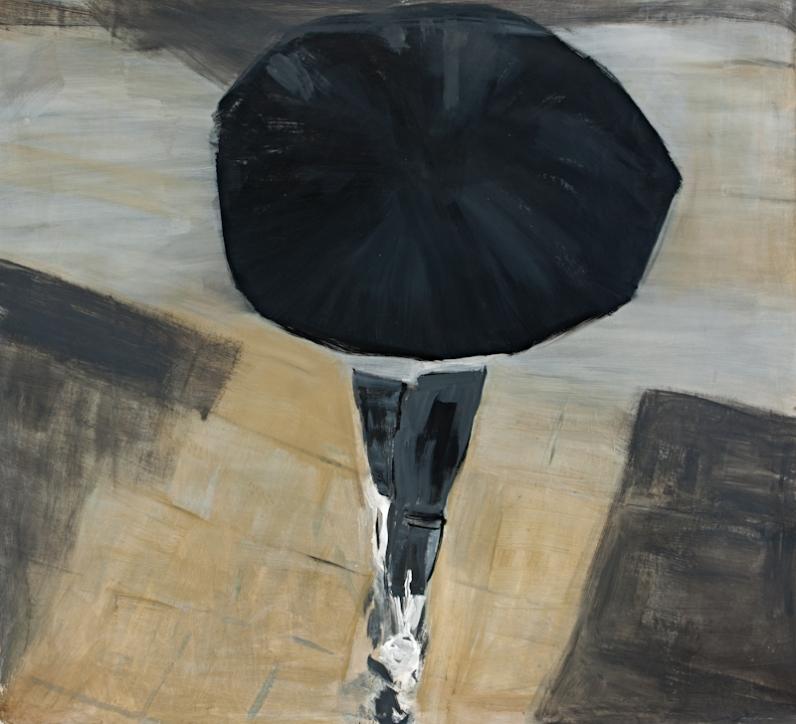 Rosa Barreiros . Determinação, 2012 . acrílica sobre tela . 150 x 150 cm