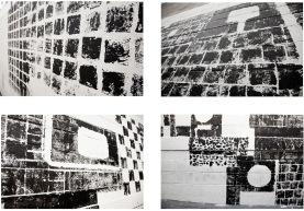 Fábio Leão . Detalhe da exposição no Ateliê 397