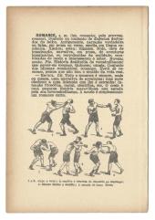 """Jorge Medeiros . """"Romance"""", 2014 . série """"Dicionário de Dificuldades"""" . Impressão jato de tinta sobre página de livro antigo . 19 X 13 cm"""