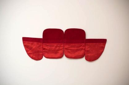 Sem título, 2013, tecido, 20 x 80 cm