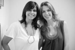 Deolinda Aguiar e Fabiola Chiminazzo