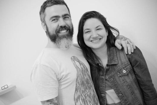 Lívia Azeredo e Camilo Meneghetti