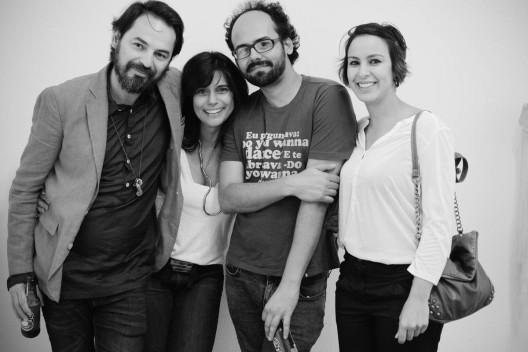 Nino Cais, Deolinda Aguiar, Marcelo Amorim e Carla Chaim