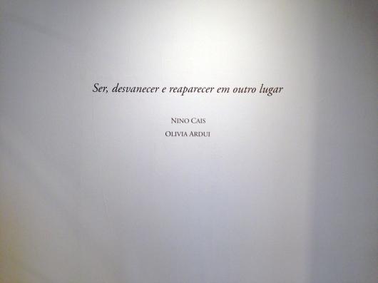 Nino Cais e Olivia Ardui na Oficina Cultural Oswald de Andrade
