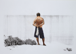 Sergio Pinzón . Sem título, 2012 . transfer de xerox sobre papel e lápis de cor . 45 x 31 cm