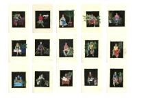 """Diana Motta . """"Entrevistas"""", 2013 . Série: Entrevistas. colagem . 27 x 22 cm"""