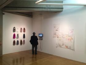 Thiago Toes . Vista da exposição coletiva CONTRAPROVA no Paço Das Artes – SP