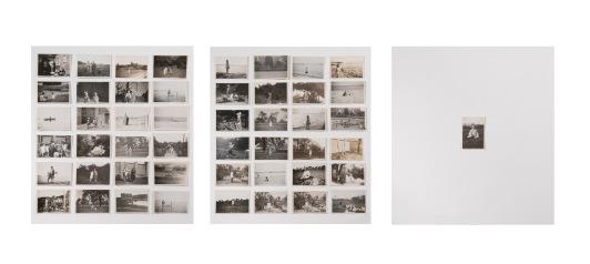 Miriam Bratfisch Santiago, Nina, 2016, tríptico. Impressão fine art sobre papel algodão. 44 x 126 cm