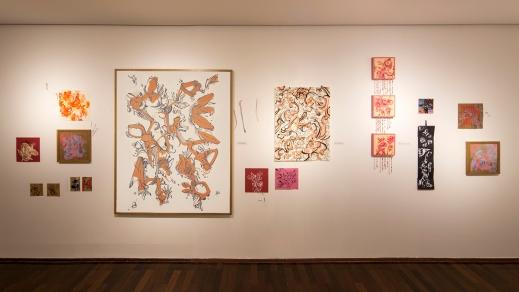Wagner Pinto . Desenhos, Pinturas e Sketches de diversos formatos e materiais Exposição Ventos de Oya - 2013 Caixa Cultural - Brasília
