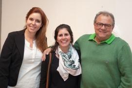 Ana Jerez, Tha°s Guglielme e Francisco Guglielme