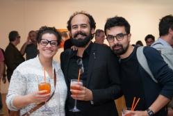 Ana Luisa Lima, Marcelo Amorim e Sergio Pinzon