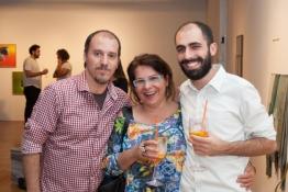 artista Jorge medeiros Simone Cupello e Pedro Gallego