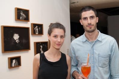 Brisa Noronha e Vinicius Postiglione