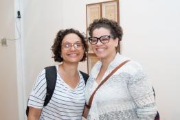 Carolina Soares e Ana Luisa Lima