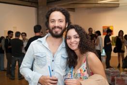 Danilo Luna e Raquel Benato