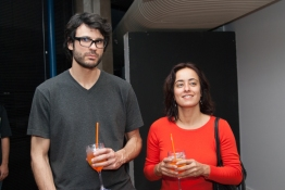 Fabio Flaks e Cristiane Mohallem