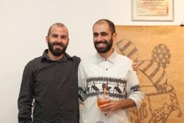 Leo Ayres e Pedro Gallego