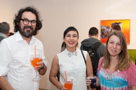 Nino Cais, Carla Chaim e Beatriz Nunes