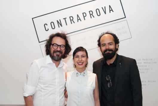 Nino Cais, Carla Chaim e Marcelo Amorim