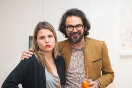 Paula Borghi e Nino Cais