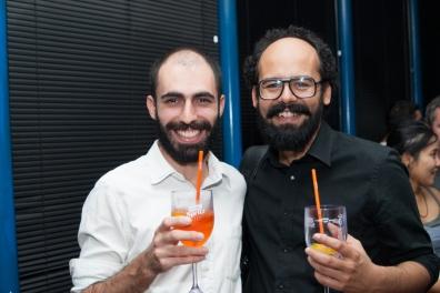 Pedro Gallego e Marcelo Amorim