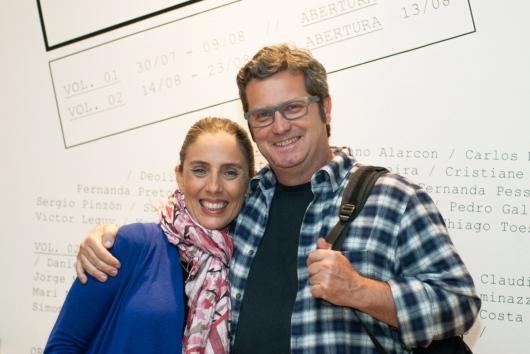 Priscila Arantes e Wagner Ara£jo