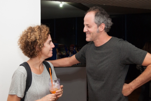 Renata Ursaia e Carlos Nunes