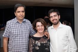 Roberto Barros, Simone Moraes e Luiz Barros