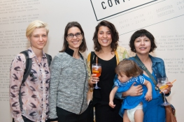 Stella Tennenbaum, Rita Sepulveda de Faria, Mari Nagem, Lina Lopes e Diana Muggler