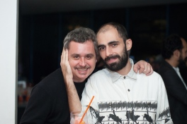 Tchelo e Pedro Gallego