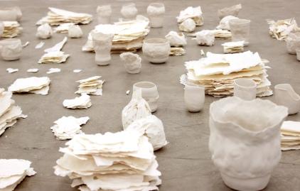 Brisa Noronha, Sem título, 2016. Série: minúcias. Porcelana. Detalhe