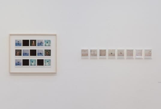 Daniel Antônio. Vista da exposição Salão dos Artistas sem Galeria, Galeria Zipper (SP). Foto: Rodrigo Fonseca