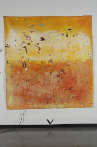 Paulo Lobo, Abismo, 2011, óleo sobre lona de algodão, 220x200cm