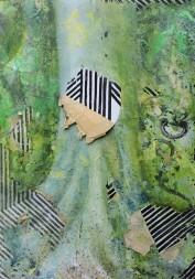 """Simone Fontana Reis, """"Eu seu que elas estiveram aqui I"""", 2016 . acrílica e óleo sobre tela . 115 X 80 cm"""