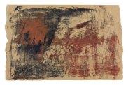 Michelle Rosset, sem título, 2017. Acrílico sobre papel pardo. 59.5 x 92 cm.