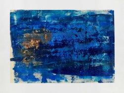 Michelle Rosset, sem título, 2017. Acrílico sobre tela. 60 x 45.5 cm.