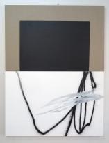 Antonio Bokel . Suaveconcreto, 2017. tinta acrílica e tinta spray sobre algodão e linho .100 x 150 cm