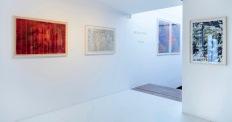"""vista da exposição """"Vestígios"""", galeria Contempo, SP"""