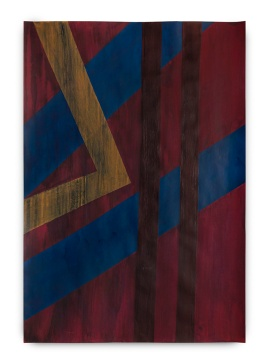 Milton Blaser . Vinho em Corte 2017 Acrílica sobre Papel 100 x 70 cm