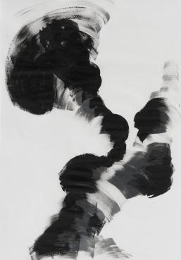 Márcia Morelli, Sem título, 2017. acrílica sobre papel manteiga. 50 x 35 cm cada
