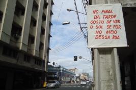 Júnior Pimenta Pertença, 2010 Intervenção urbana